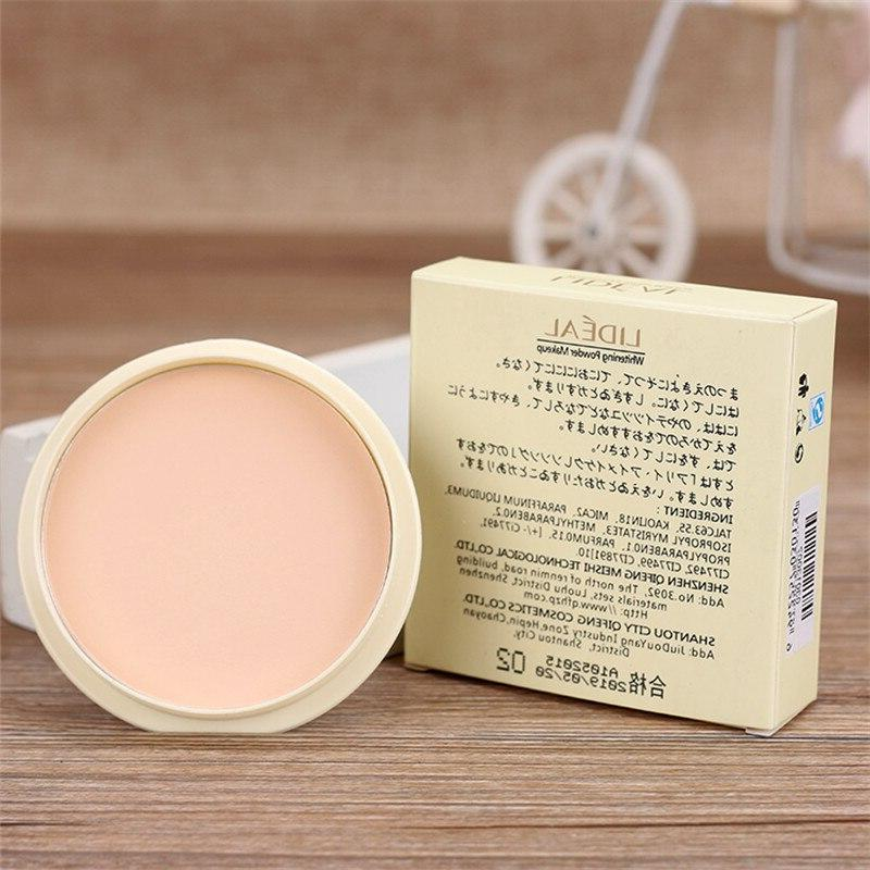 Transparent Pressed Powder Lasting Oil Control <font><b>Face</b></font> Foundation Waterproof Whitening Skin Finish