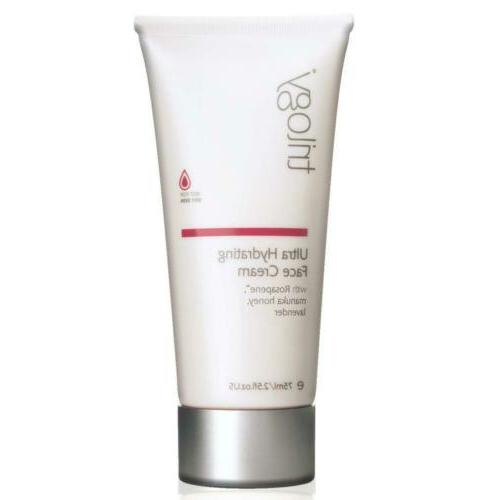 Trilogy Ultra Hydrating Face Cream for Unisex 2.5oz