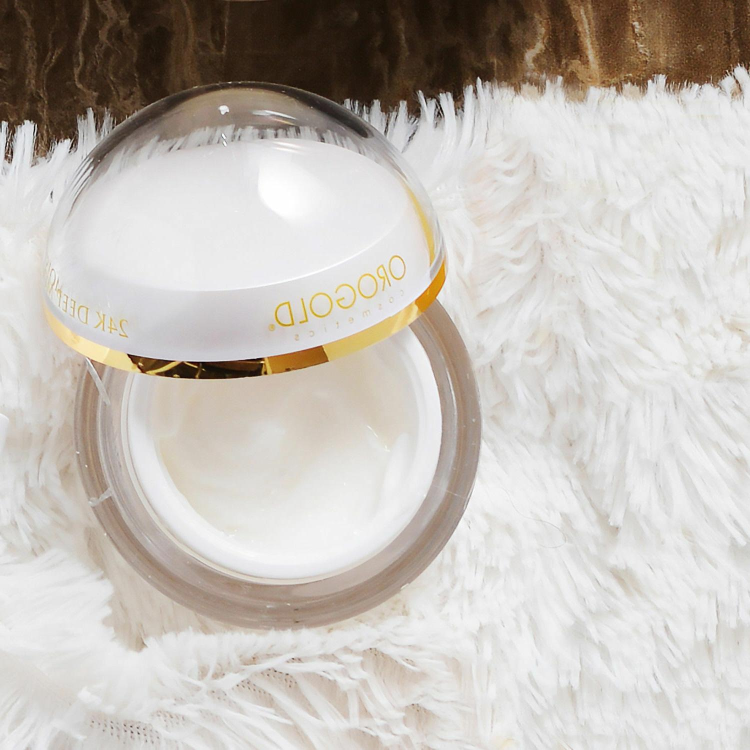 White Moisturizer for Face OROGOLD
