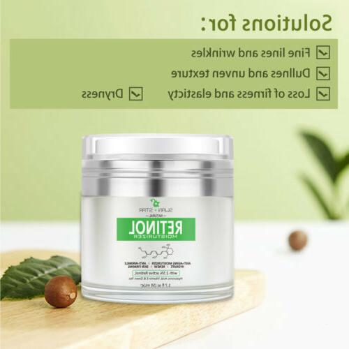 Women 2.5% Moisturizer Face Cream vitamin Anti Aging