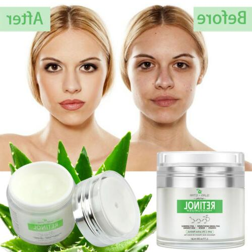 Women Moisturizer Face Cream Hyaluronic vitamin
