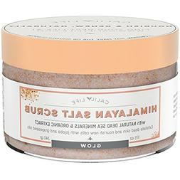 Calily Life Luxury Himalayan Pink Salt Scrub for Face & Body