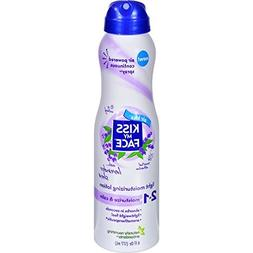 Kiss My Face 2 in 1 Light Moisturizing Lotion, Lavender & Sh