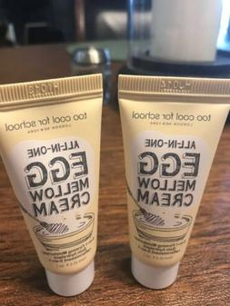 LOT 2 Too Cool for School Egg Mellow Cream Face Moisturizer