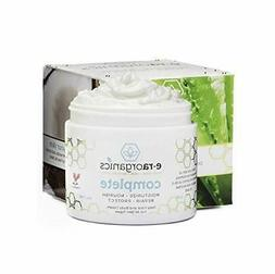 Natural&Organic Face Moisturizer Cream - Advanced 10-In-1 No