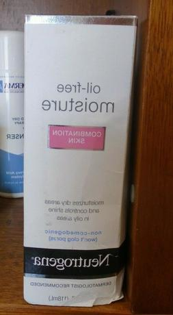 Neutrogena Oil Free Face & Neck Moisturizer for Combination
