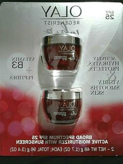Olay Regenerist Whip Active Face Moisturizer and SPF25 Sunsc