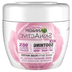 Garnier SkinActive 3-in-1 Face Moisturizer with Rose Water -