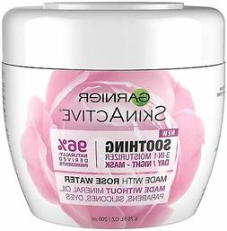 Garnier SkinActive 3-in-1 Face Moisturizer with Rose Water,