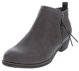 Rampage Women's Tarragon Ankle Bootie Grey 7.5