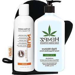 Hempz Triple Moisture Hand and Body Lotion | Self Tanner | L