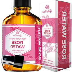 Rose Water Facial Toner by Leven Rose – Moroccan Rosewater