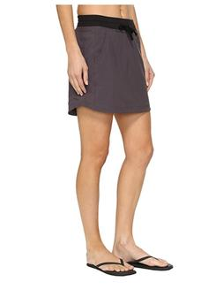 The North Face Womens Class V Gray Moisture Wicking Skort At